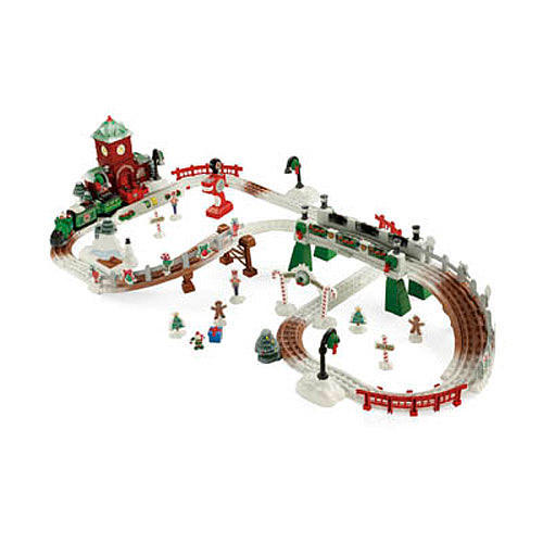 Fisher Price GeoTrax Christmas In Toy Town Train Set Only $59.98 ...