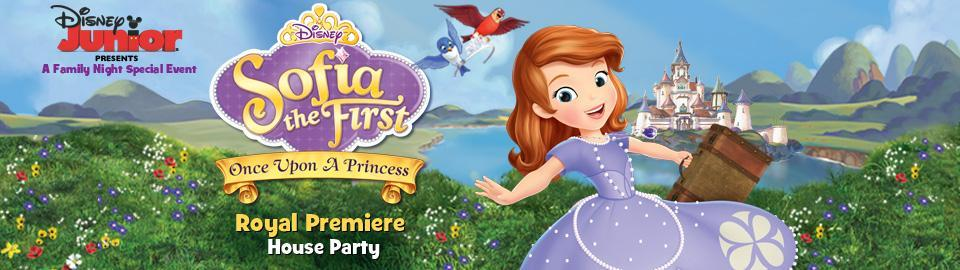 Apply To Host A Disney Jr Sofia The First Princess Royal House