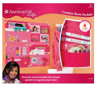 American girl crafts creative rooms pockets kit only 16 for American girl craft kit