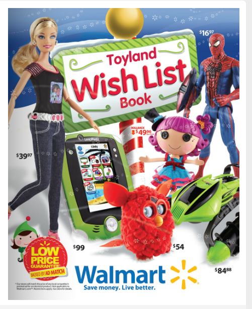 Walmart Toy Specials : Walmarts toyland wish list book is out freebies deals