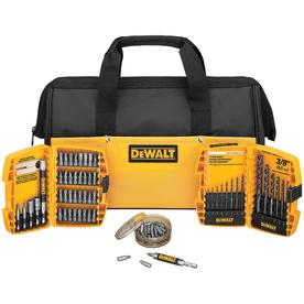dewalt 75 piece drilling screwdriver set with case free in store pickup freebies2deals. Black Bedroom Furniture Sets. Home Design Ideas