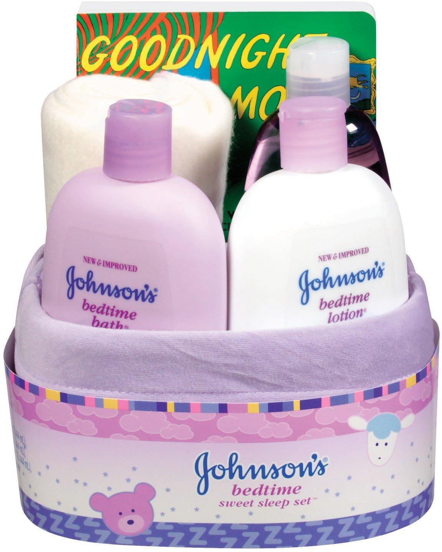 Johnson Baby Gift Set Coupons : Johnson s baby gift set bedtime sweet sleep basket