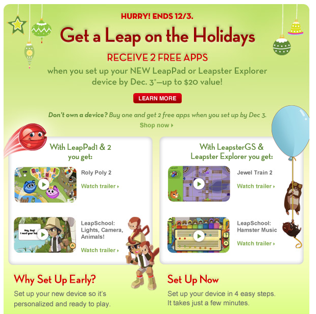 In getting free leap pad apps, leap pad free app codes are needed in the application center. Then, the free game can be downloaded right away. For more of the free leap pad apps and deals, there is a need to enter the leappad free app codes in the connect account of Leap Frog.