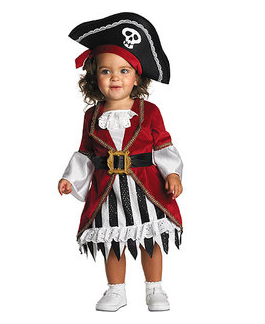 Pirate Princess Toddler Halloween Costume ...  sc 1 st  Freebies2Deals & Walmart: Halloween Costume Clearance + Free Site-to-Store Shipping ...