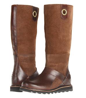SOREL Slimpack grey waterproof riding boots, Designer Footwear