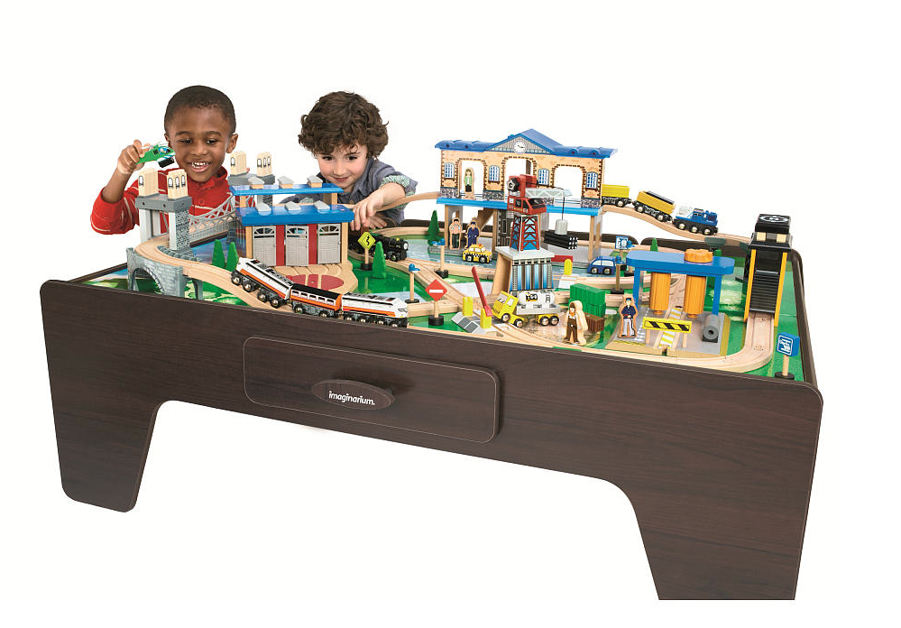 imaginarium train table 55 piece instructions