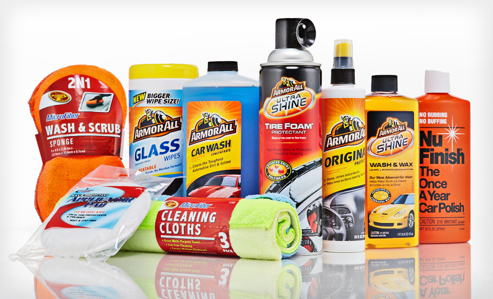 Groupon Car Care Kit Only 49 Includes Armor All Clean Rite And Nu Finish Products
