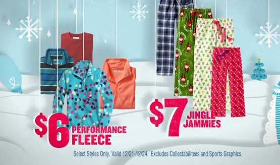 in store only old navy has jingle jammies