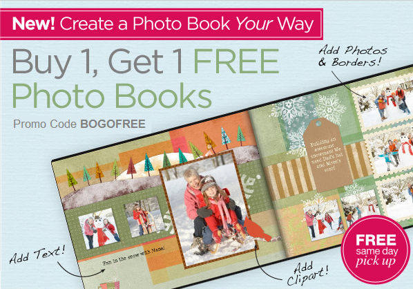 cvs buy one photo book get one free freebies2deals