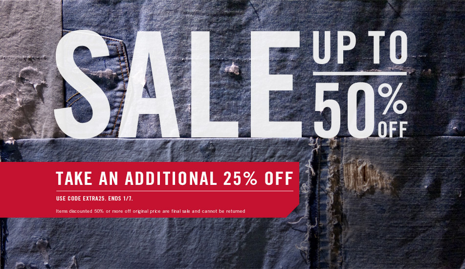 Levi S Sale Up To 50 Off Plus Get An Additional 25
