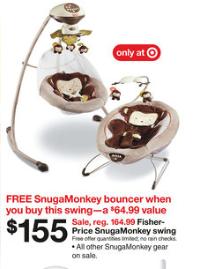 fisher price snugamonkey swing manual