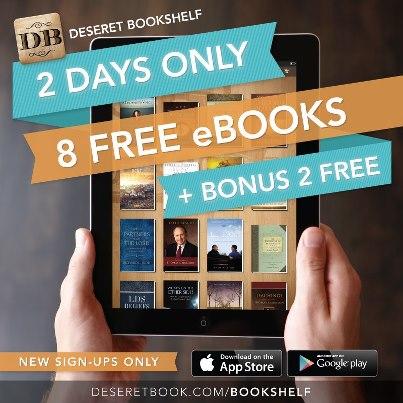 Deseret Bookshelf Get 2 Bonus EBooks For FREE