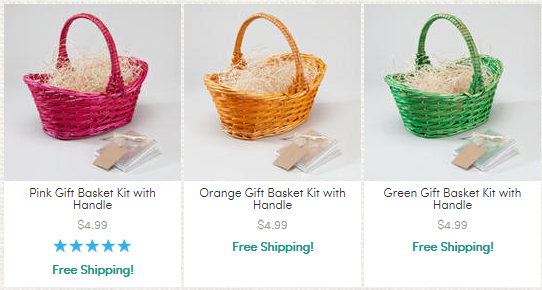 Huge easter sale 499 easter baskets and more plus free the easter basket negle Image collections