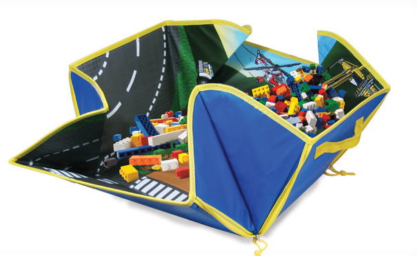 Lego City Zipbin Toy Box Amp Play Mat Only 9 00