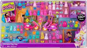 freebies2deals- Polly Pocket Ultimate 150-Piece Gift Play Set