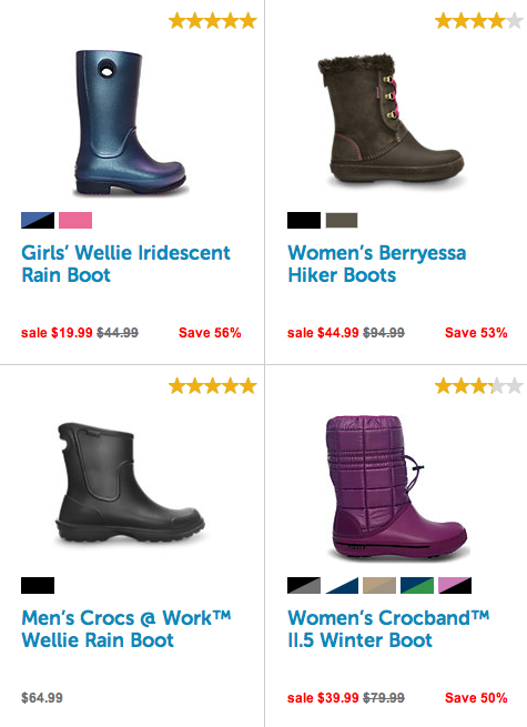 dae82a26636be1 Crocs Clearance Sale! Boots Up To 73% Off! - Freebies2Deals