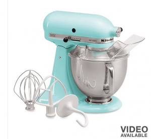 right now kohl s has the kitchenaid artisan 5 qt stand mixer marked