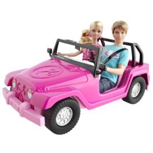 ken car barbie