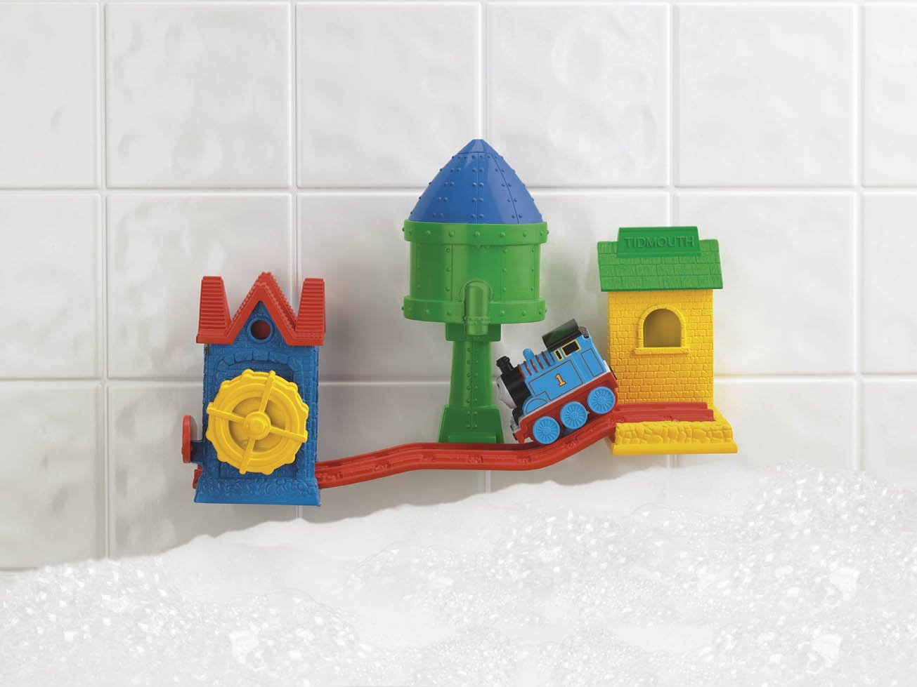 Amazon.com: Thomas the Tank Engine Train & Friends Sodor ... |Thomas The Train Toys Bath Time