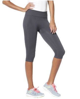 grey capri workout pants - Pi Pants