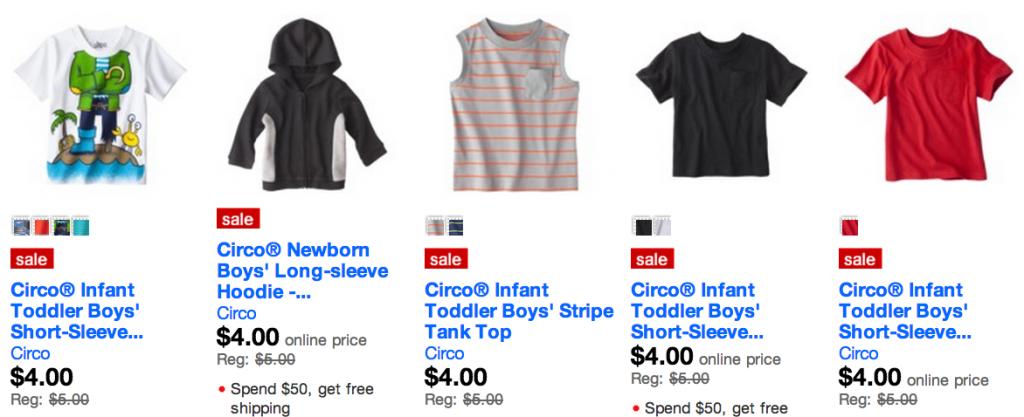 freebies2deals boys target sale