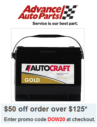Advanceautoparts com coupon code
