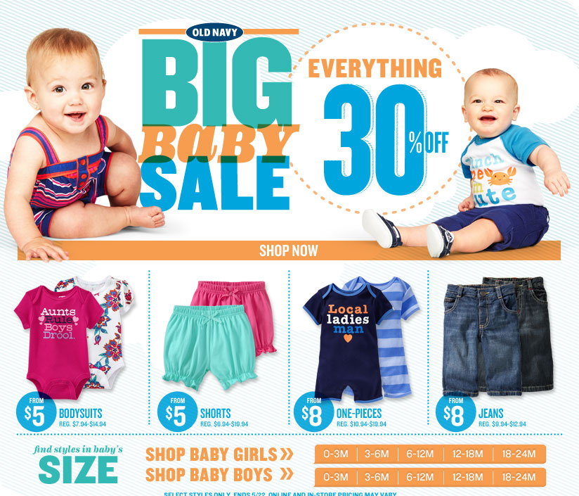 freebies2deals babay old navy sale