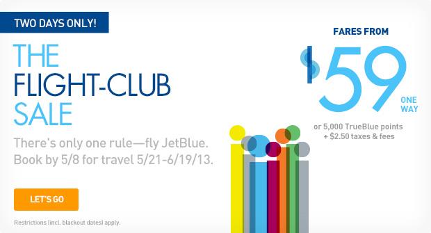 freebies2deals jet blue 59 sale