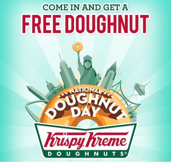 Krispy Kreme Birthday Freebies