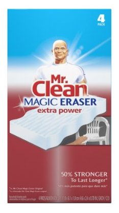 amazon 4 pack mr clean extra power magic eraser shipped freebies2deals. Black Bedroom Furniture Sets. Home Design Ideas