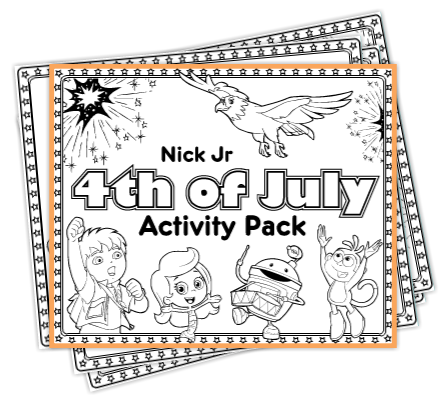 free fourth of july coloring pages activity packet - Coloring Packets