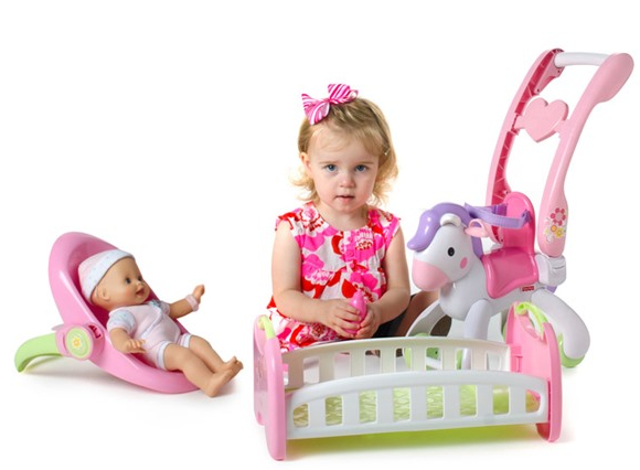 Fisher Price Little Mommy Baby Doll Set Only 39 99