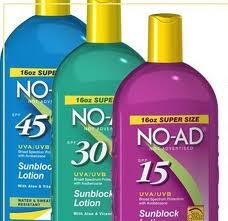 freebies2deals noad sunscreen free