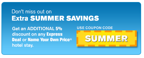 Priceline: Get An Additional 5% Discount Off Any Express Deal or ...