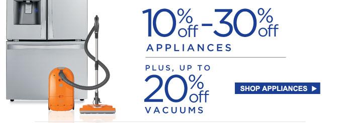 Sears 2 Day Appliance Sale Enjoy 10 30 Off Select