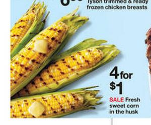 free corn on the cob
