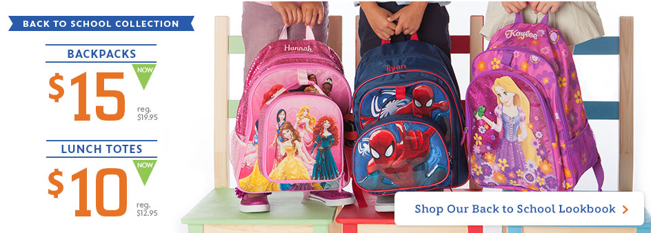 Disney Store: Personalized Disney Character Backpack Only $19.95 ...