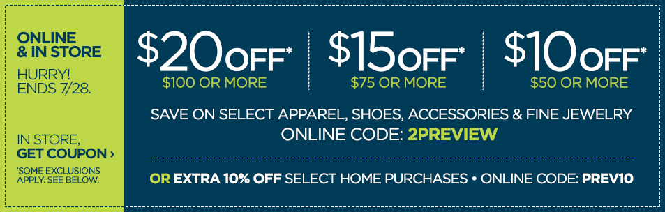 New jcpenney coupon code enjoy 10 off 50 15 off 75 or 20 off new jcpenney coupon code enjoy 10 off 50 15 off 75 or 20 off 100 fandeluxe Gallery