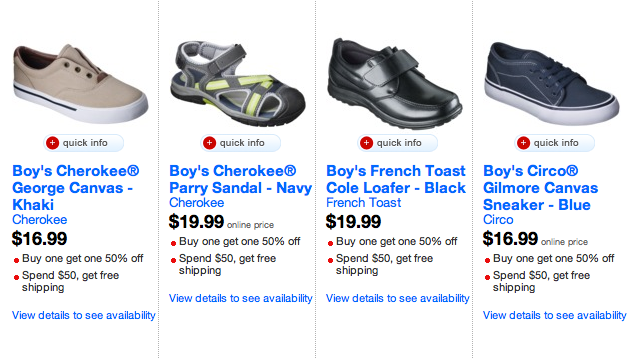 Target.com: Boys Tennis Shoes Only $6.28 Each Shipped Free (Normally $20