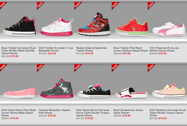 a639084703f Finish Line: Kids Shoes As Low As Only $9.98! FREE In-Store Pickup ...