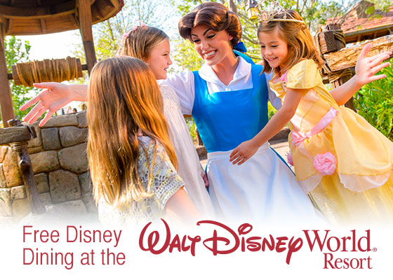 Walt disney world free dining plan offer freebies2deals How to get free dining at disney