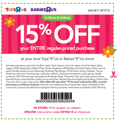 photograph regarding Toys R Us Printable Coupons named Toys R Us Coupon - Conserve 15% Upon Your Full Order Within just Keep