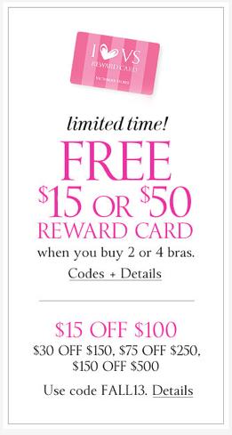 f3f2ad9afa57f Victoria's Secret: FREE $50 Victoria's Secret Gift Card When You ...