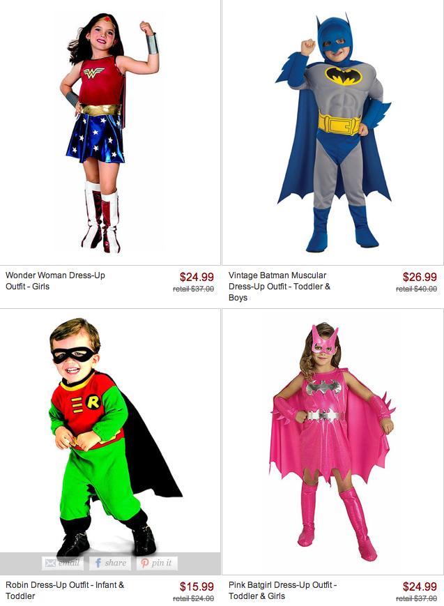 Freebies2deals Zulily Halloween Costumes