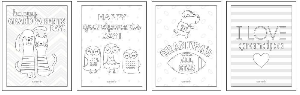 Accomplished image with regard to grandparents day cards printable