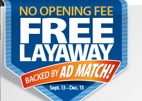 Walmart: FREE Layaway Backed By Ad-Match! - Freebies2Deals