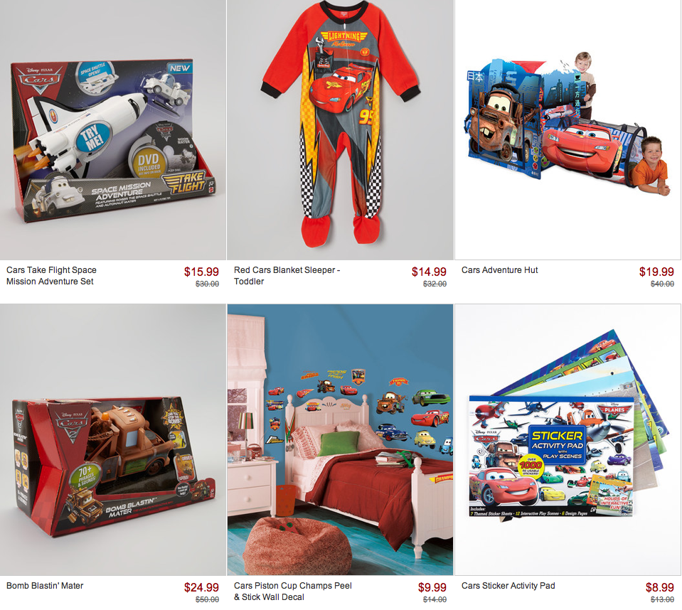 Trend Zulily Save On The Little Mermaid and The Disney Cars Collections Prices Start at Only