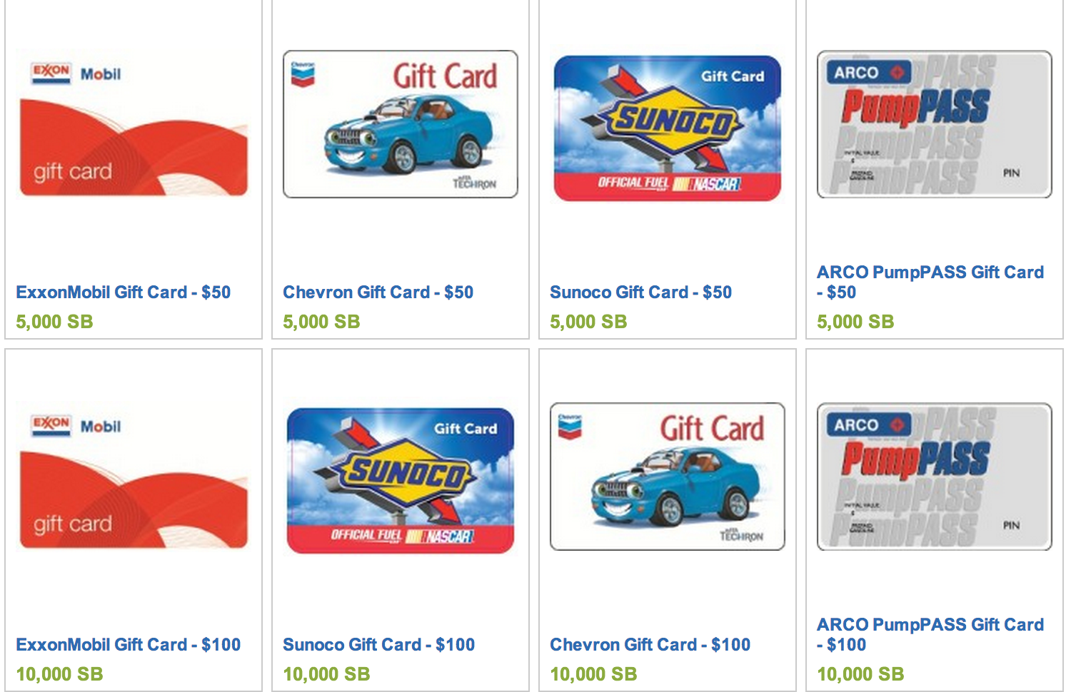 Arco Gas >> Free Gas from Chevron, Exxon, Mobile, Arco or Sunoco! - Freebies2Deals