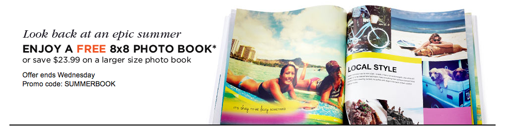 FREE 8×8 Hard Cover Photo Book From Shutterfly! (Just Pay Shipping!)