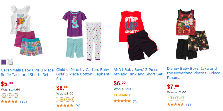Walmart Red Hot Summer Clearance Event! (Women, Men and Kids Clothing